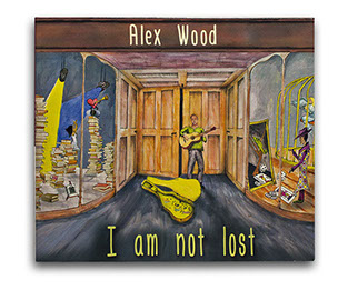 Alex Wood Band - I am not Lost Album cover