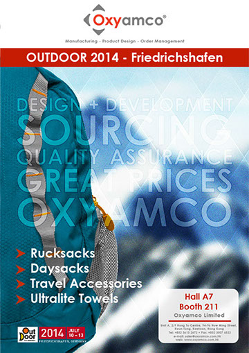 Oxyamco Outdoor 2014 poster design by Wright Designer